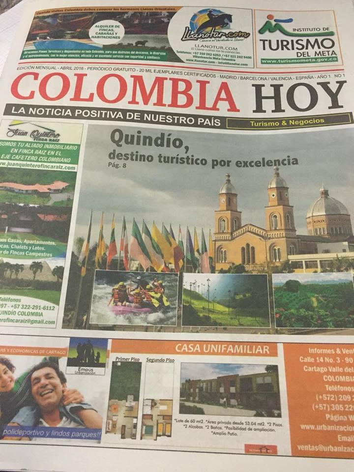 PERIODICO COLOMBIA HOY