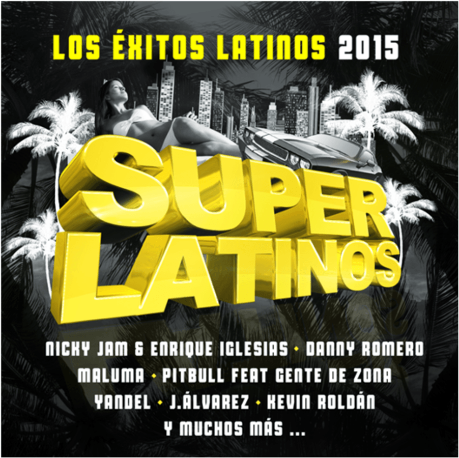SUPER LATINOS 2016 new