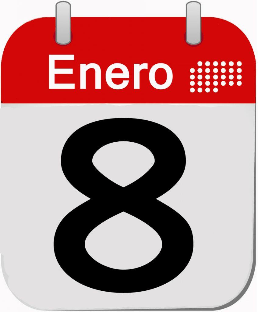 9. 8 ENERO